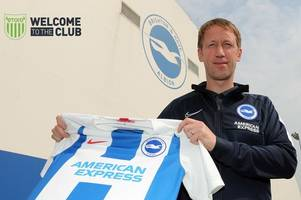 breaking: graham potter confirmed as brighton's new manager after leaving swansea city