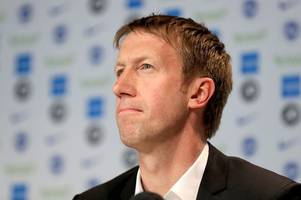 graham potter on his 'intense talks' with swansea city and the moment he decided to join brighton