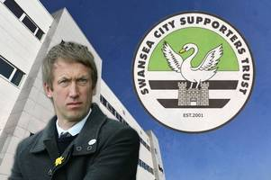 swansea city supporters' trust issue message to owners following graham potter's brighton move