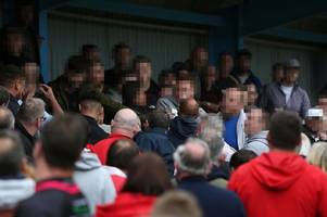 video footage emerges of clash between welsh rugby fans as wru launch investigation