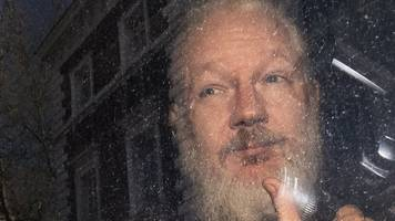ecuador hands over julian assange's belongings to us