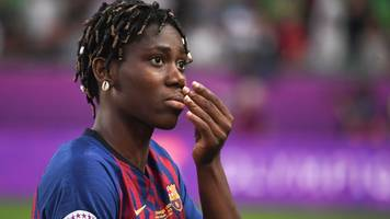 asisat oshoala: 'proud' despite women's champions league defeat
