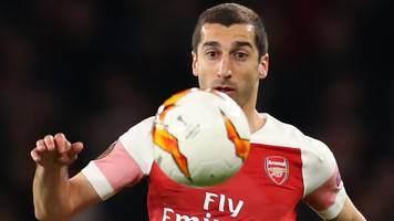 Arsenal's Henrikh Mkhitaryan to miss Europa League final against Chelsea