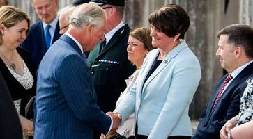 Prince Charles arrives in Northern Ireland for Secretary of State annual garden party
