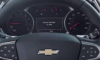2020 Chevrolet Traverse Gets New Safety Feature to Force Teens to Buckle Up