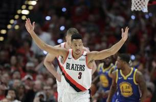 trail blazers' cohesiveness helped them to conference finals
