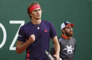 Top-seeded Zverev advances, Dimitrov out at Geneva Open