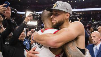 NBA play-offs: Golden State Warriors into fifth straight NBA Finals after eliminating Portland Trail Blazers