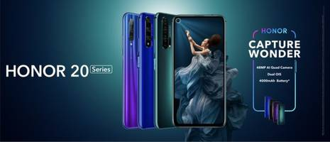 HONOR's Flagship N-Series Welcomes Its Latest Member -- HONOR 20 Series