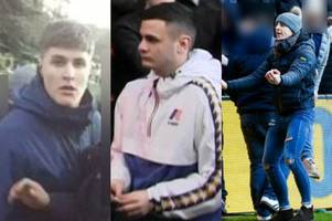 police now want to speak to these three men about football disorder at bristol city vs swansea city
