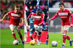 bristol city boss lee johnson issues update on futures of young trio mo eisa, joe morrell and liam walsh