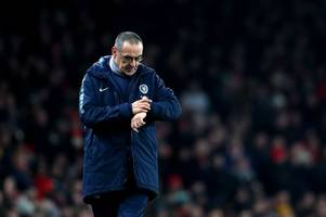 next chelsea manager odds: former manchester united star linked as juventus eye up maurizio sarri