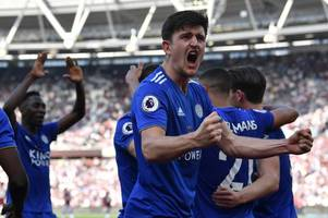 'take john stones' - leicester city fans react to manchester city interest in harry maguire