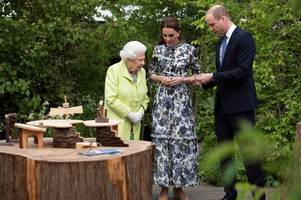 The Queen's incredible five-word dig at Kate Middleton and Prince William at Chelsea Flower Show