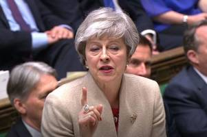 theresa may offers mps chance to hold second brexit referendum in last-ditch bid to get her deal approved
