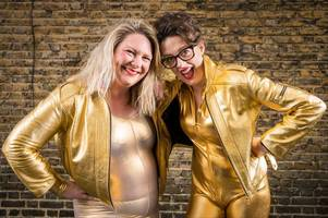 comedians celebrate scummy mummies in new tour coming to lincoln - gold catsuits included