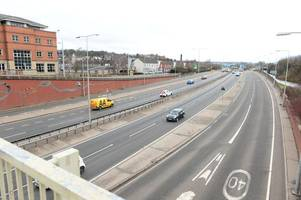 police closed a500 as man threatened to jump from bridge in third such incident in one night