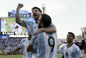 messi, aguero and di maria in argentina's copa america squad