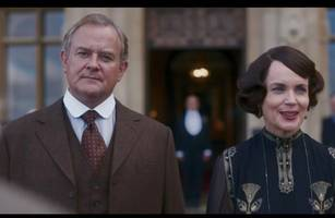downton abbey movie trailer finally released as cast prepare for royal visit