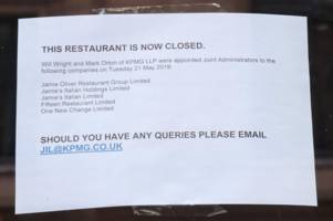 Jamie Oliver's Glasgow restaurant closes doors after TV chef calls in administrators