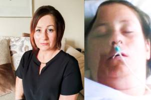 mum thought she was having migraine during workout - but actually suffered devastating brain aneurysm