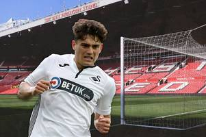 man utd's daniel james transfer: the player they would be getting and the silver lining for swansea city