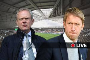 swansea city next manager live updates as club search for graham potter replacement following brighton move