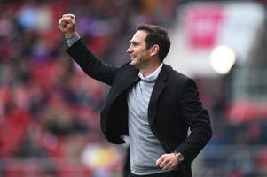 odds slashed on frank lampard replacing maurizio sarri as the next chelsea manager