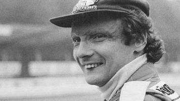 'the most courageous act of any sportsman' - tributes to niki lauda