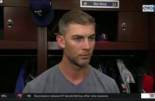 mike minor strikes out 11 in 6 innings to get the win vs. seattle