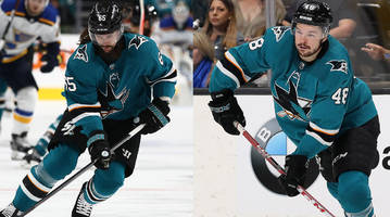 injuries keep sharks' tomas hertl, erik karlsson out of game 6 vs. blues