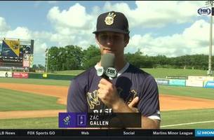 Marlins prospect: Zac Gallen checks in from New Orleans