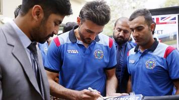 Only cricket makes Afghanistan smile, says bowler Hassan