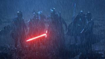 no one cares about the knights of ren in 'star wars: the rise of skywalker'