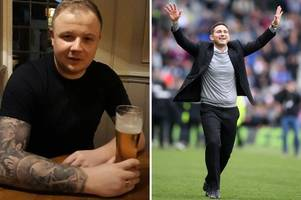 fan who promised to get lampard tattoo if rams made wembley makes new promise
