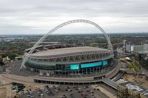 Wembley parking information for Derby County and Aston Villa fans