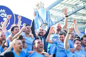 how the premier league is predicted to finish as manchester city compete with liverpool and spurs