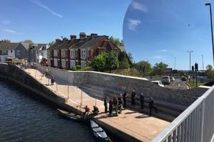 empty canoe sparks police incident in exeter - live updates