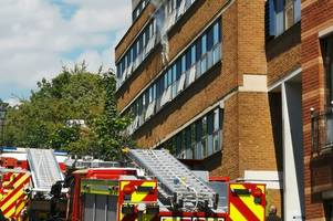fire breaks out at student flats in exeter city centre - live updates