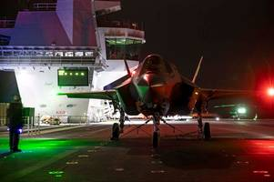 royal navy's biggest ship to begin sea trials ahead of f-35 jet tests in us