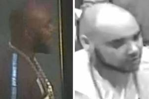 do you know him? cctv stills issued after man hurt in easter brawl in leicester city centre