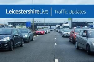 live updates: collision causing delays on the a42 near ashby