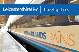 live updates: leicester trains affected by fire next to tracks just over county border
