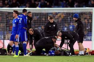 where leicester city sit in the premier league injuries table