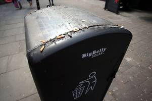 'ugly' and 'unsightly' nottingham bins to be replaced costing hundreds of thousands
