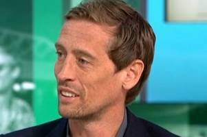 peter crouch reveals who he'll support in liverpool vs tottenham champions league final