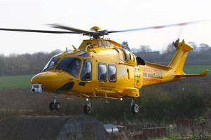 live updates as air ambulance and paramedics rush to incident on outskirts of lincoln