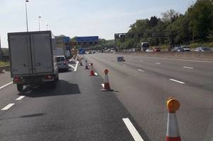 Motorcyclist, 41, paralysed after M25 crash that closed road for five hours