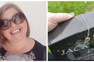 'please help me find my locket...' - heartbroken mum wants your help to find precious keepsake to dead baby son (and it was last seen in stoke-on-trent)