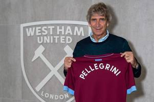 injuries, inconsistency and optimism - manuel pellegrini's first year in charge of west ham